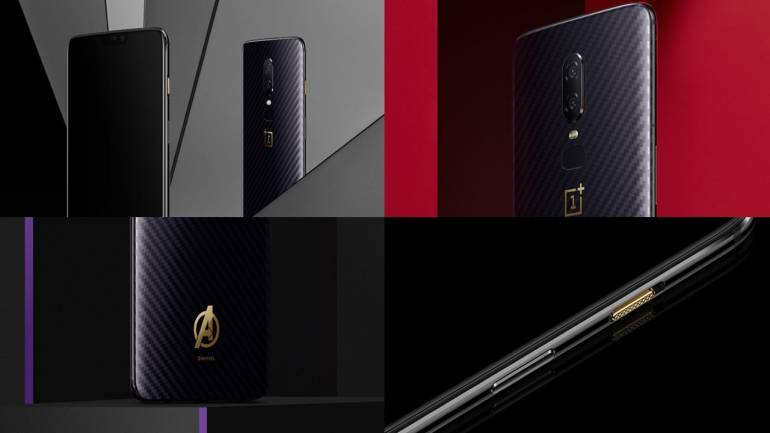 c22ce10fc OnePlus 6 Marvel Avengers limited edition sale to begin on May 29 ...