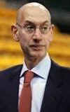 The man in the picture is Adam Silver. He is the serving commissioner of which billion dollar association?