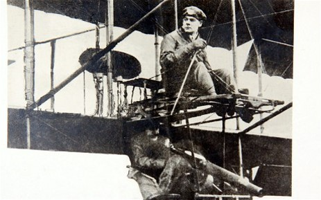 Q3: Major Robert Loraine was a leading figure in the earliest days of flight and served in the Great War, completing one mission despite having been shot through the neck. What word is credited to him, having been used first in 1909 in his diary to describe aircraft controls?
