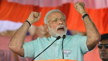 PM Modi in Midnapore highlights: Canopy collapses at PM's rally, at least 20 injured