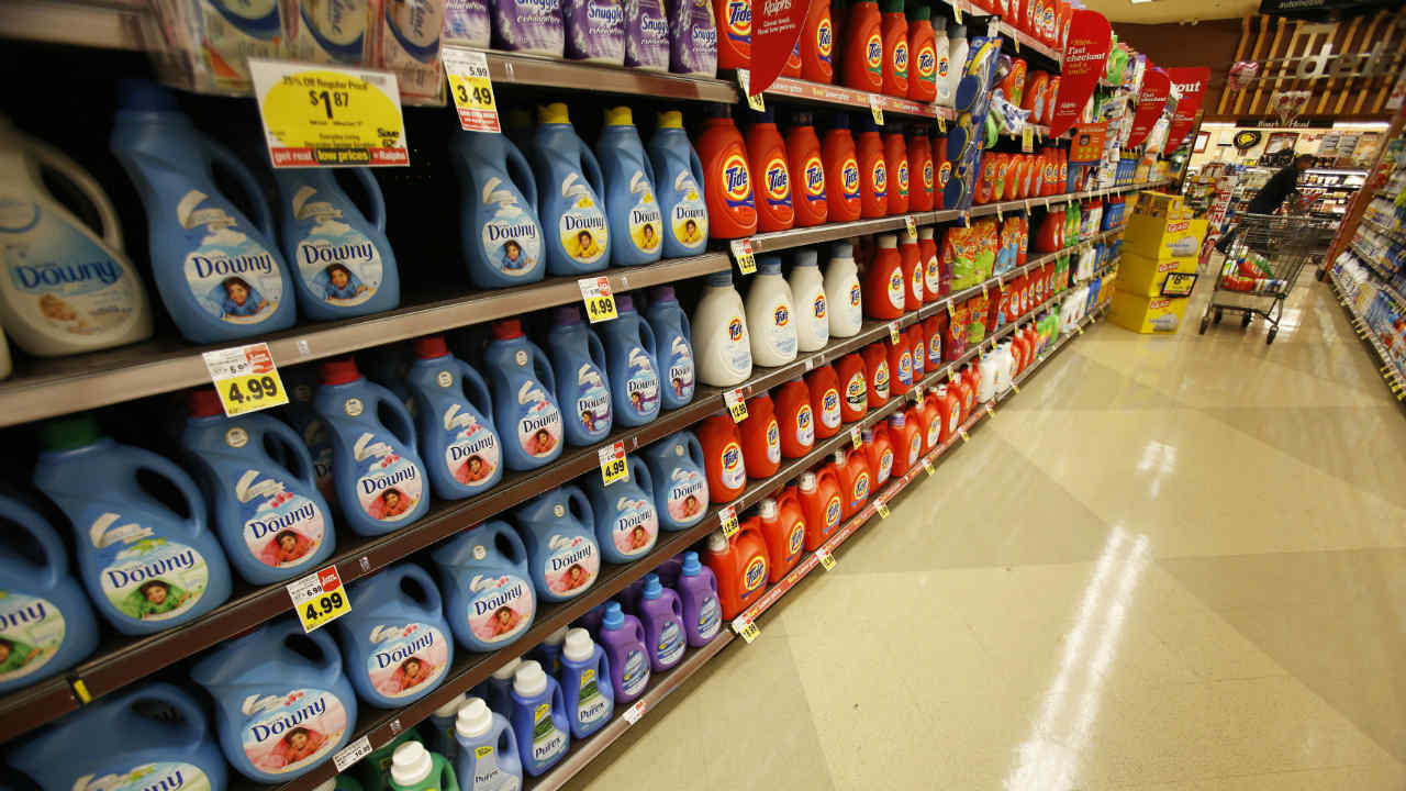 Consumer goods company Procter and Gamble repurchased its shares for USD 30 billion in 2007. (Photo: Reuters)