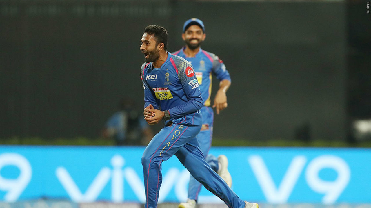 SHREYAS GOPAL: BASE PRICE - Rs 20 LAKH | The all-rounder from Karnataka first debuted in the IPL way back in 2014 when he was picked up by Mumbai Indians for just 10 lakhs. Following that stint he hasn't really established himself as a first team regular until he was given the chance by his current Rajasthan Royal's captain Ajinkya Rahane. Gopal showed up consistently for the Royals, even putting in a match winning performance against Bangalore which resulted in Rajasthan securing a berth in the season's playoffs. The 24-year old picked up 4/16 in that game scalping the irrepressible AB de Villiers, Moeen Ali and Parthiv Patel in the process. His ability to extract great turn along with multiple variations will have Rajasthan looking forward to a long term future with the exciting prospect. His stats read 11 wickets from 11 games, that's three more than Rajasthan's 12.5 crore signing Ben Stokes, as he finished the season as the team's second highest wicket taker.