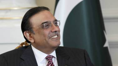 Pakistan's ex-president Zardari to contest general election