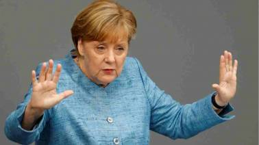 Angela Merkel predicts 'contentious' G7 summit with Donald Trump
