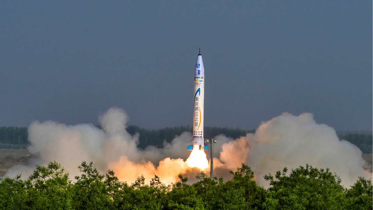 China launches rocket developed by private company