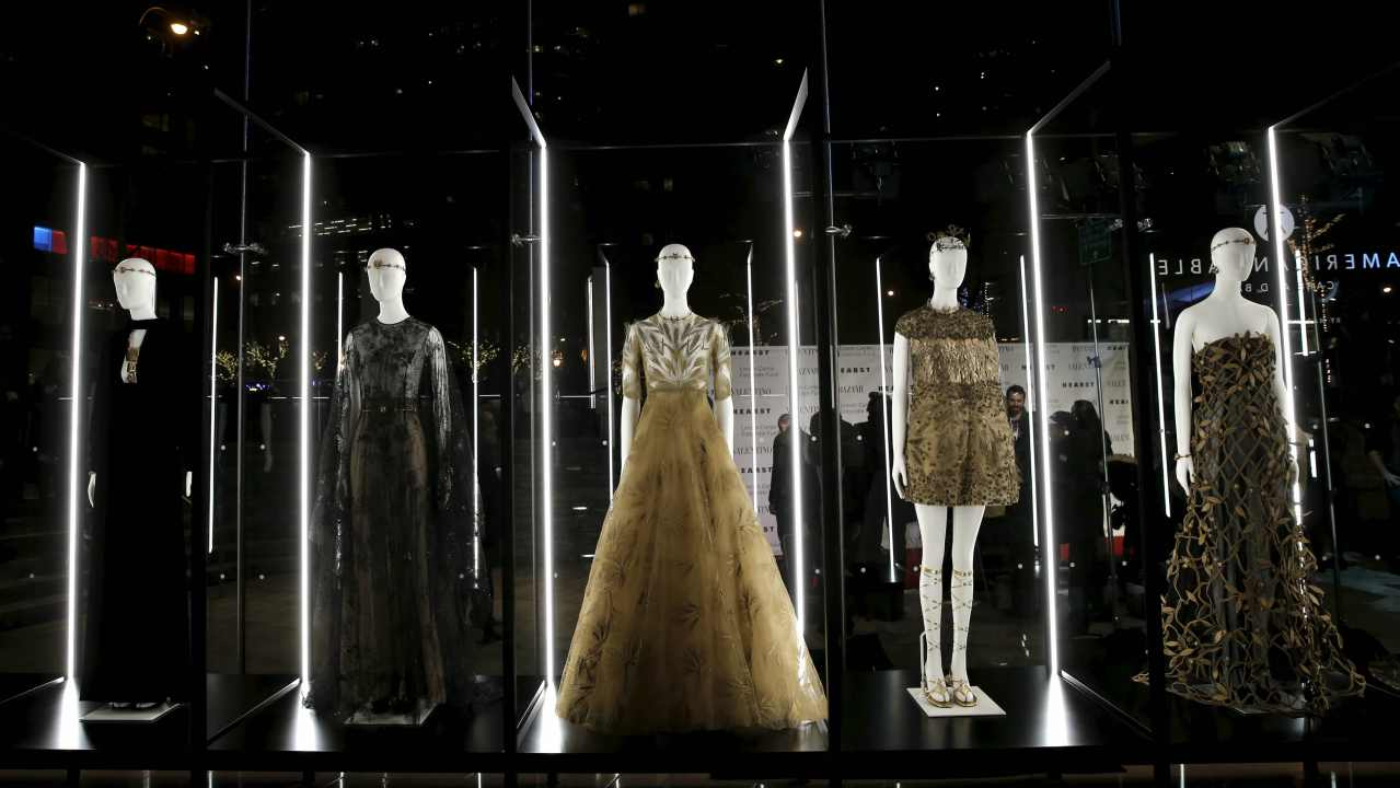 Answer: Haute-Couture (Image: Reuters)