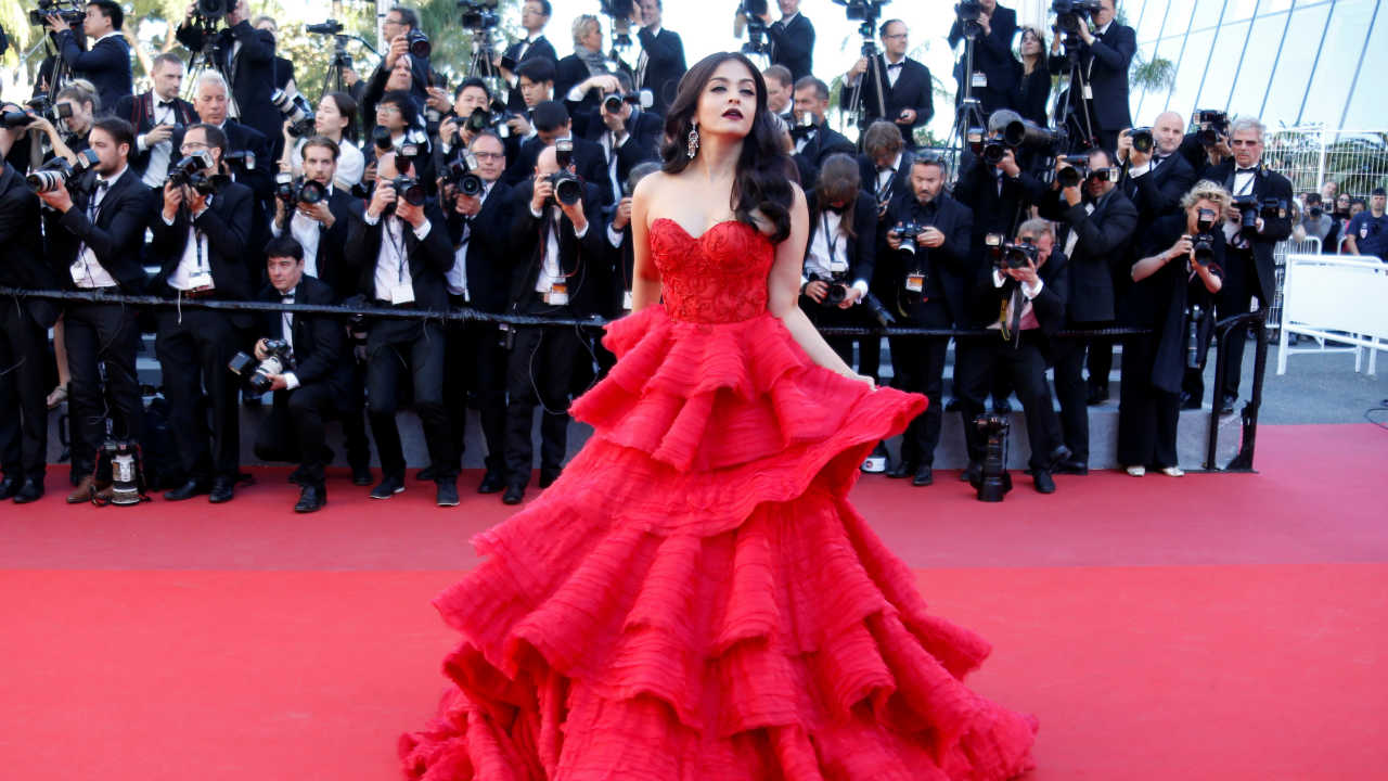 Aishwarya Rai | The 1994 Miss World winner married Abhishek Bachchan in 2007. She wore a Neeta Lulla wedding outfit which was estimated to be Rs 75 lakh. (Image: Reuters)