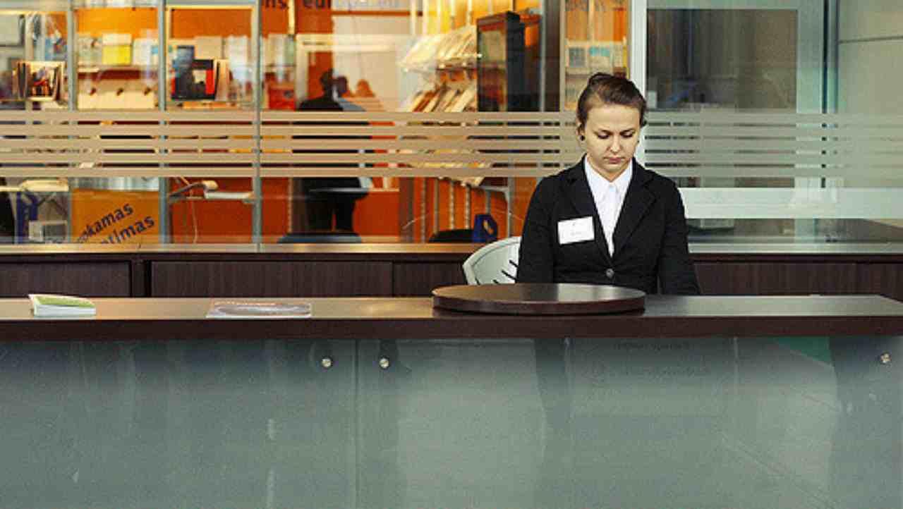 Answer: Receptionist (Image: Flikr)