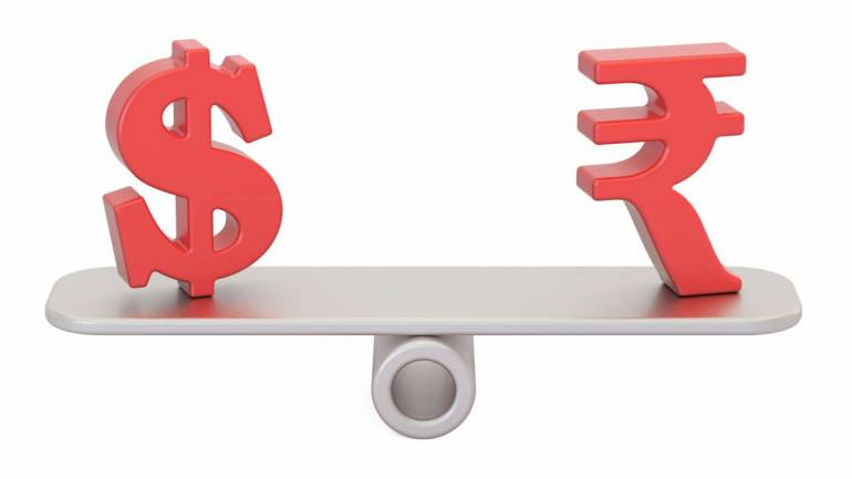 Indian Rupee To Trade Near Record Low Over Coming Year Amidst Us