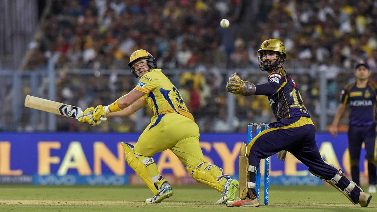 Rank 5: Shane Watson, Chennai Super Kings | Runs: 555 | Matches: 15 | Highest Score: 117* (Image: PTI)
