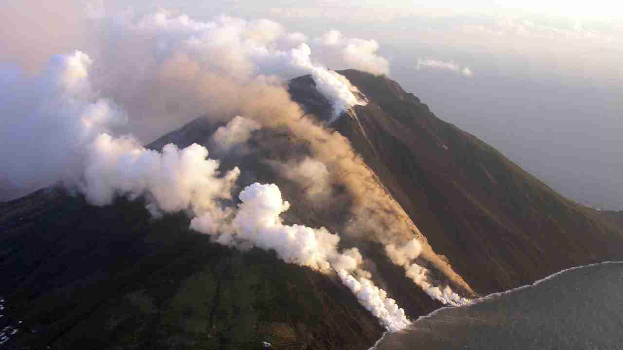 4. Stromboli, Italy   This volcano has been continuous erupting since the last 2000 years. It is known for sudden, violent bursts of molten lava, ash and rock. The term 'Strombolian' is now used to comparatively describe such bursts in other volcanoes. It sits on Stromboli island, which is the head of an underwater volcano. (Image: Reuters)