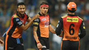 SRH vs RCB IPL 2018 Match Report: Sunrisers stun Bangalore with excellent bowling display