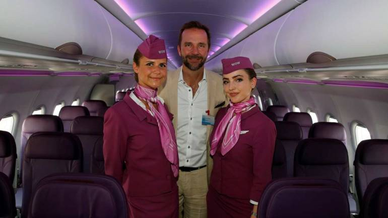 Image result for wow air Montreal crew