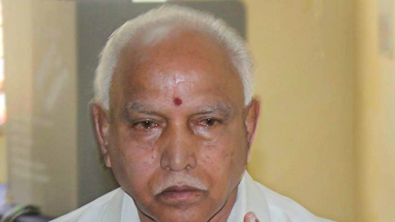 Meanwhile, BJP's chief ministerial candidate BS Yeddyurappa reportedly stated that the BJP would not form an alliance with any other party and would form the government. (Image: PTI)