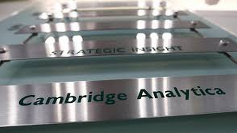 Voluntary bankruptcy filed by Cambridge Analytica