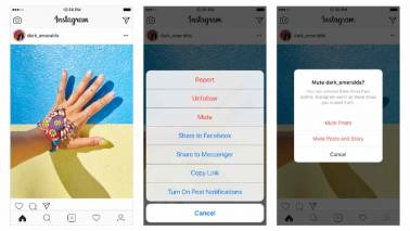 Now mute annoying people on Instagram without unfollowing them