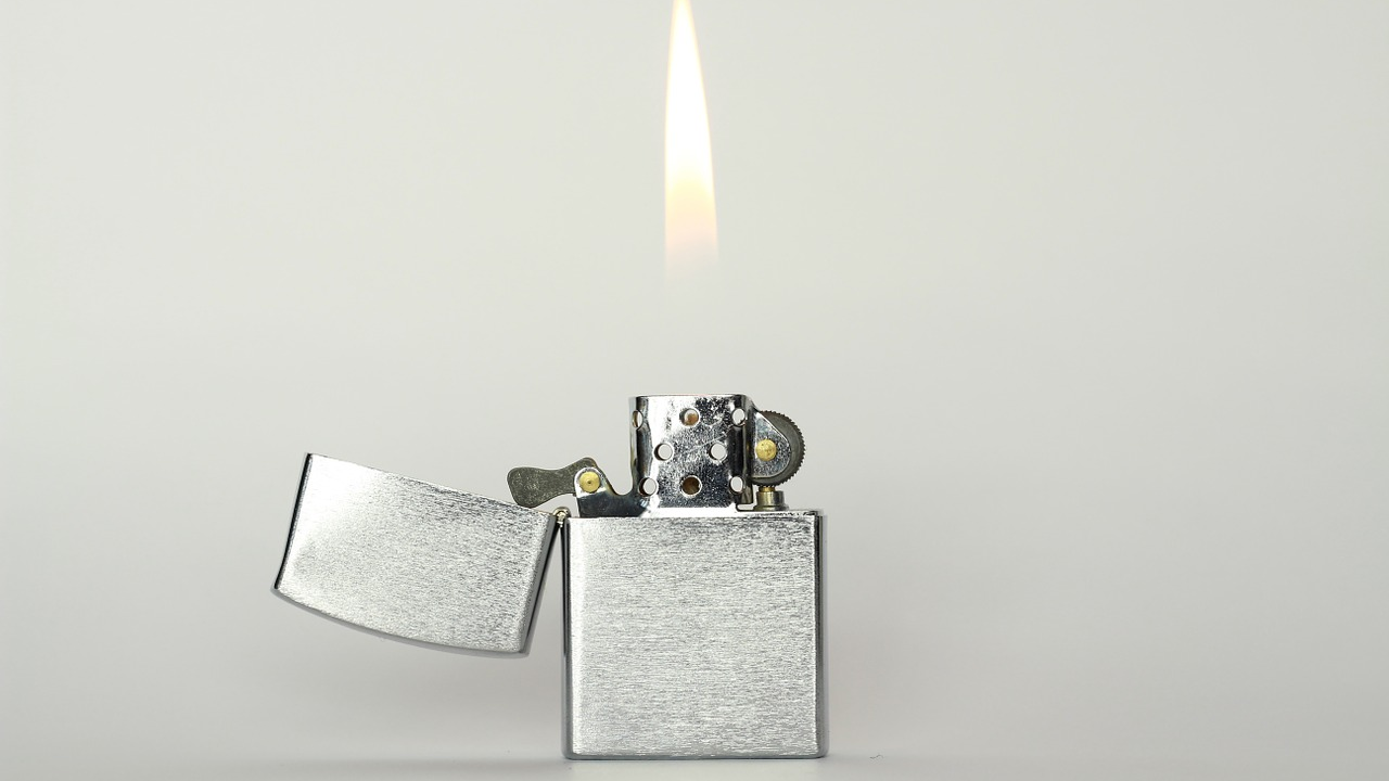 Answer: Lighter (Image: Pixabay)