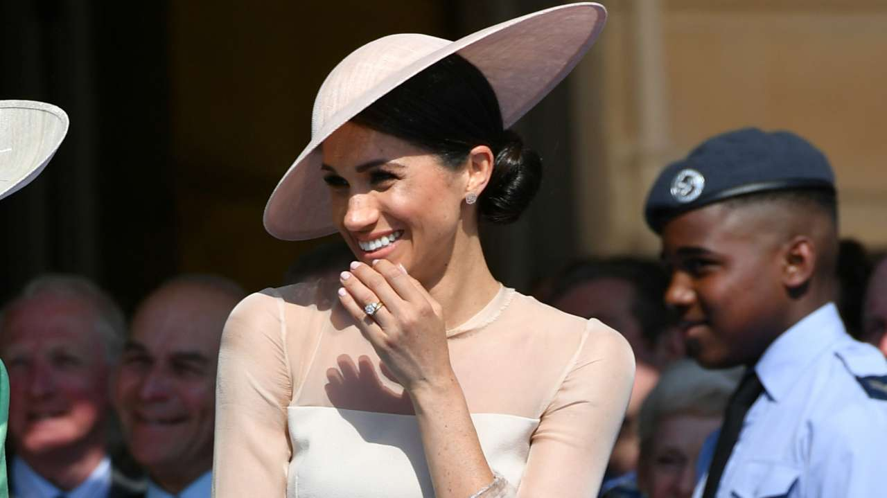 Answer: Meghan Markle (Image: Reuters)