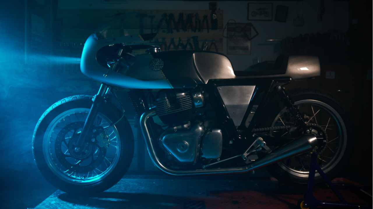 In its fourth appearance at the Wheels and Waves festival in France, Eicher Motors controlled Royal Enfield unveiled three of its latest custom build motorcycles developed for the very first time on its yet to be launched twin-cylinder platform.