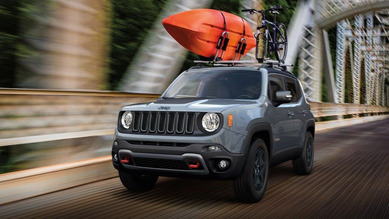 Jeep Renegade Trailhawk launched internationally on June 21 and the brand wasted no time in releasing best images of the off-roader. (Image: Jeep)