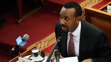 1 dead after attack at huge rally for Ethiopia's new PM Abiy Ahmed