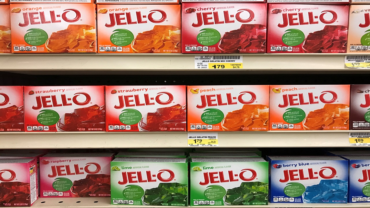 Answer: Jell-O (Image:Reuters)