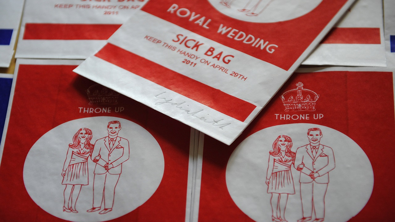 Answer: Sickness Bag (Image: Reuters)