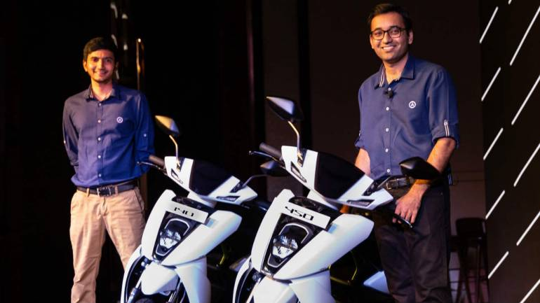 Hero MotoCorp-backed Ather launches e-scooter S450, priced at Rs 1 09 lakh