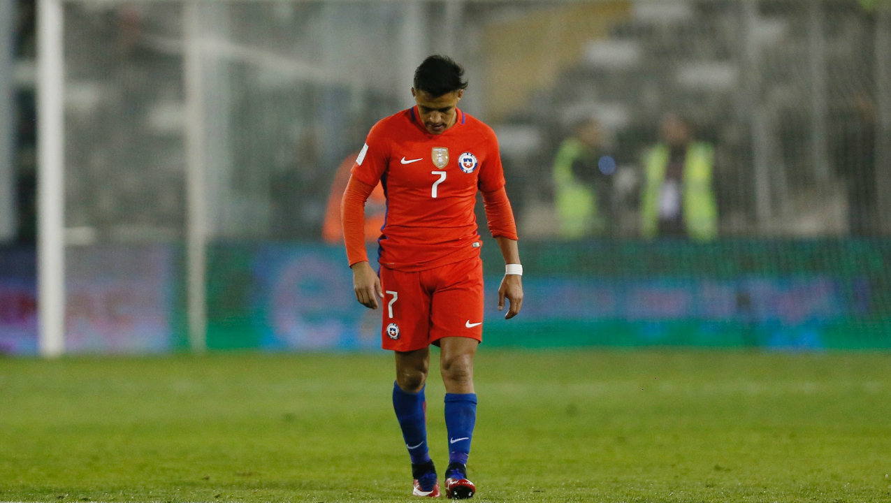 Chile | Reigning Copa America champions suffered a heavy 3-0 defeat to Brazil on the final day of the qualifiers which saw them move from third to sixth position all in the span of just 90 minutes. After winning two Copa America titles in 2015 and 2016, Chile even finished runners-up to Germany at the 2017 Confederation Cup. However, we won't see the talented Chile stars such as Alexis Sanchez and Arturo Vidal feature in Russia this summer.