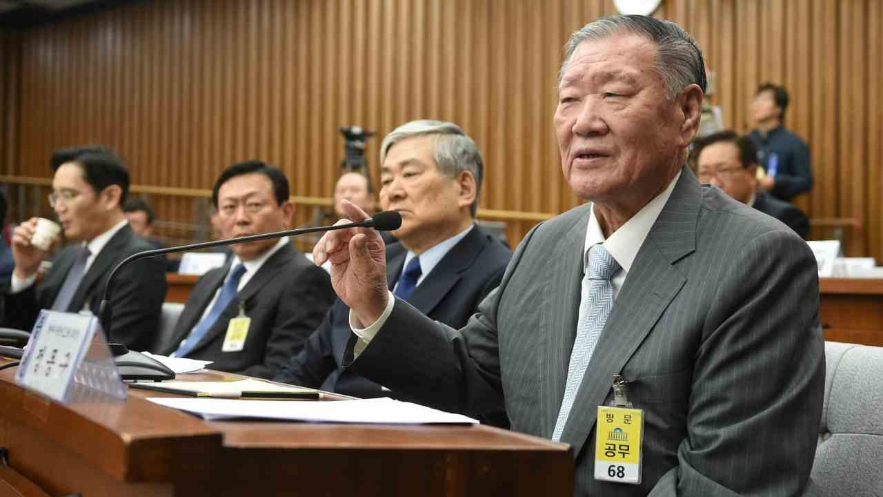 Chung Mong Koo | Hyundai Motor | Koo was found guilty of fraud and embezzlement, having siphoned some $100 million into a slush fund allegedly to bribe officials in 2007. After a trial, he was sentenced to three years in jail. In 2008 he received a presidential pardon. (Image: Reuters)