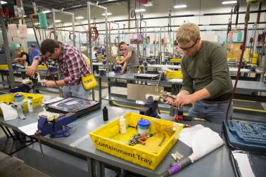 US industrial output dips in May as manufacturing declines