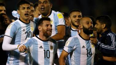 FIFA World Cup 2018 Official squad: Group D – Team 13 – Argentina
