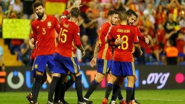 FIFA World Cup 2018 Official squad: Group B – Team 8 – Spain