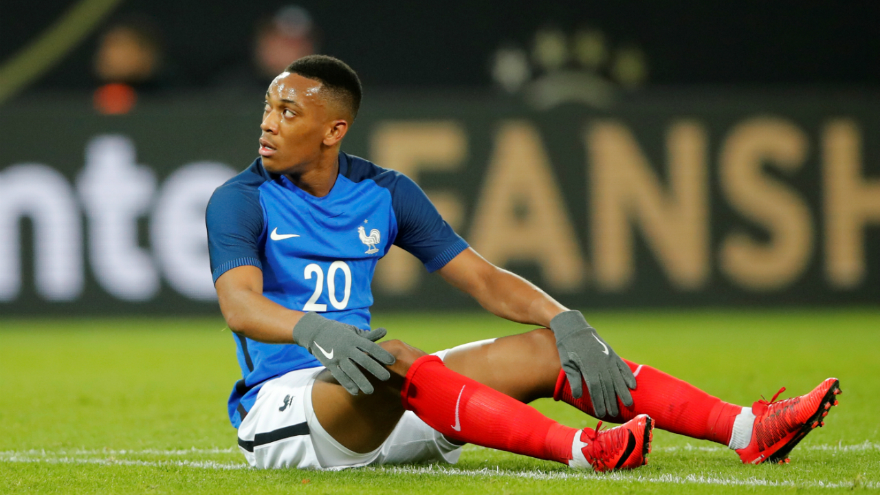 Anthony Martial (France) | France's coach Didier Deschamps decided to overlook the 22-year-old Manchester United winger following an underwhelming season. With players like Kylian Mbappe, Olivier Giroud, Thomas Lemar and Antoine Griezemann leading the line for France, there is no dearth of talent in the squad.