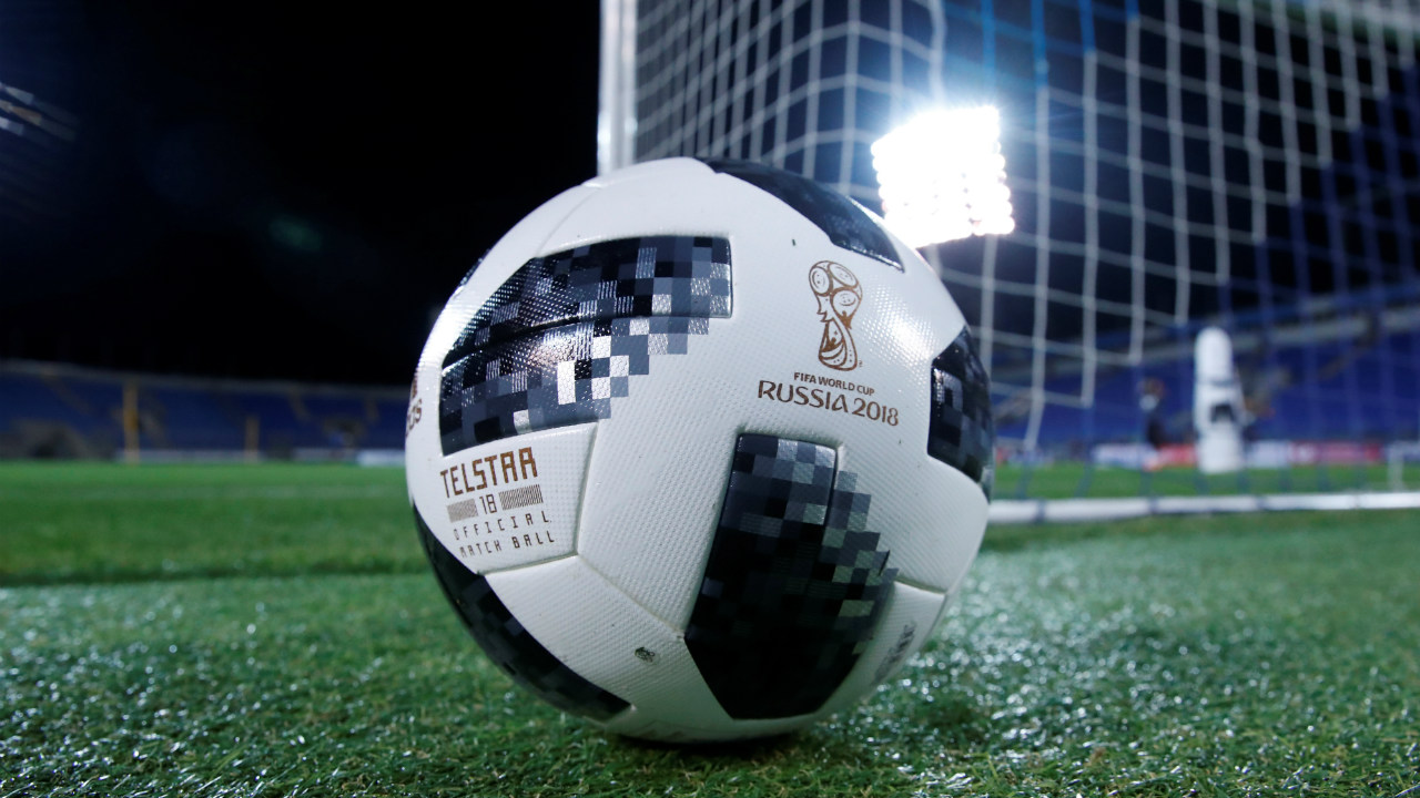 The official match ball for the 2018 World Cup, 'Telstar 18' is reimagined and named after the first Adidas match ball used in Mexico in 1970. Back then, the Telstar was the first ball to be used in the World cup which was designed with 32 black and white panels so as to make it more visible on the black and white television sets of the 70's.