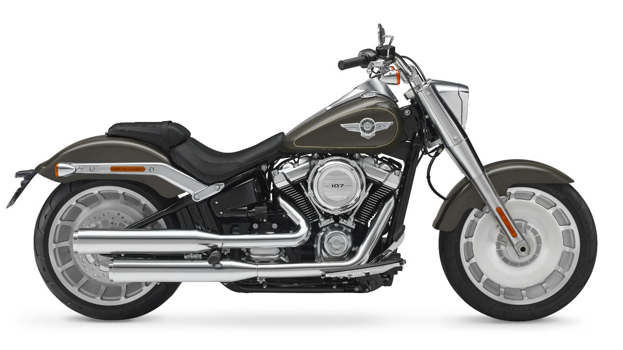 Harley-Davidson Fat Boy: Rs 18.11 lakh