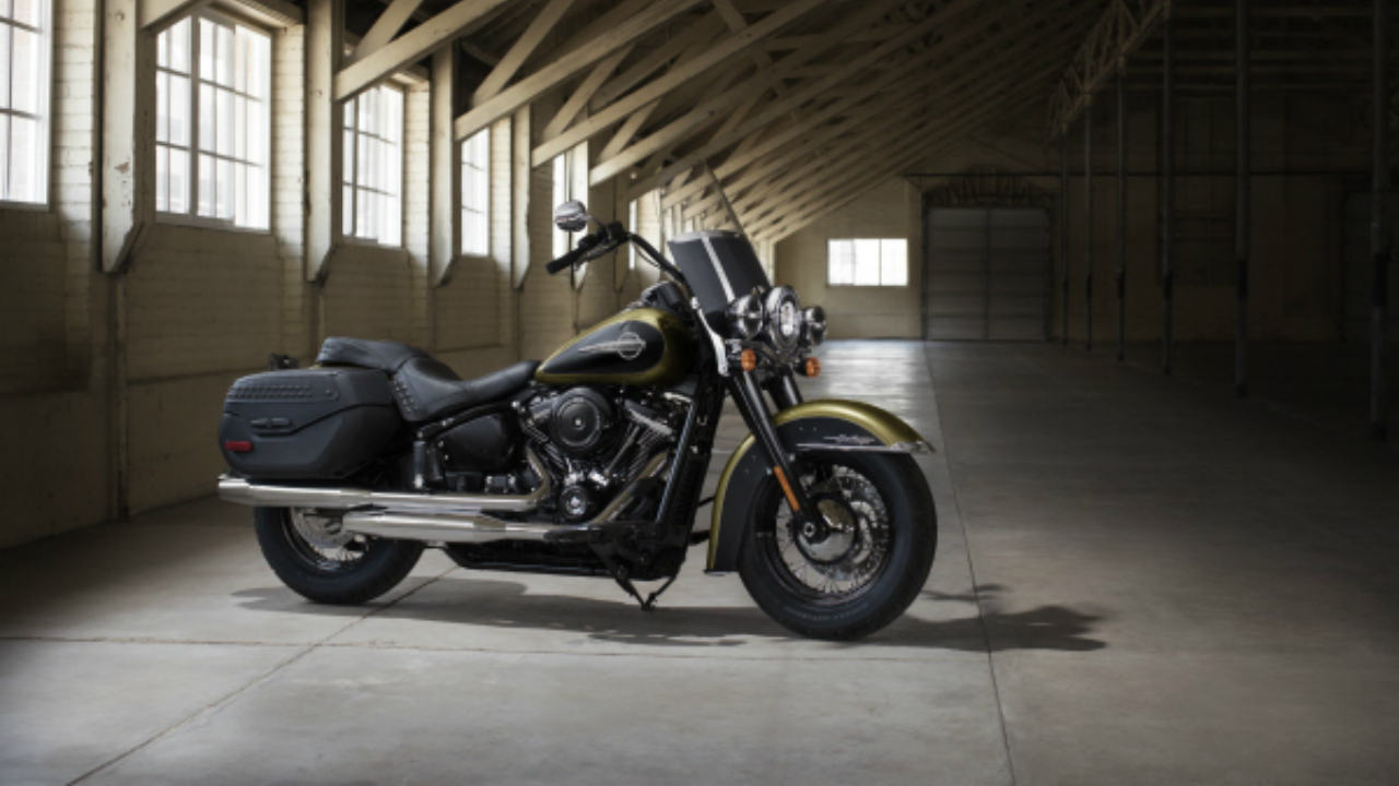 Harley-Davidson Heritage Classic: Rs 19.71 lakh