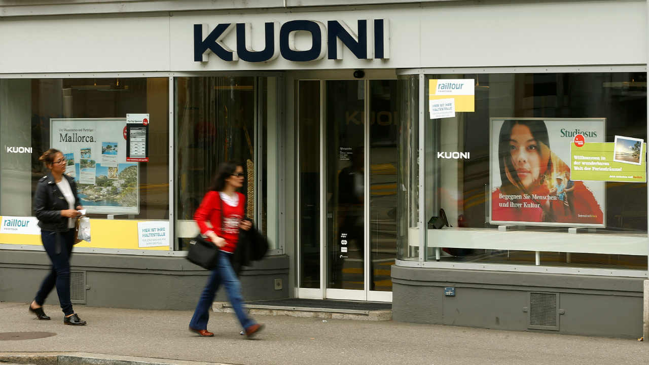 Answer: Kuoni (Image: Reuters)