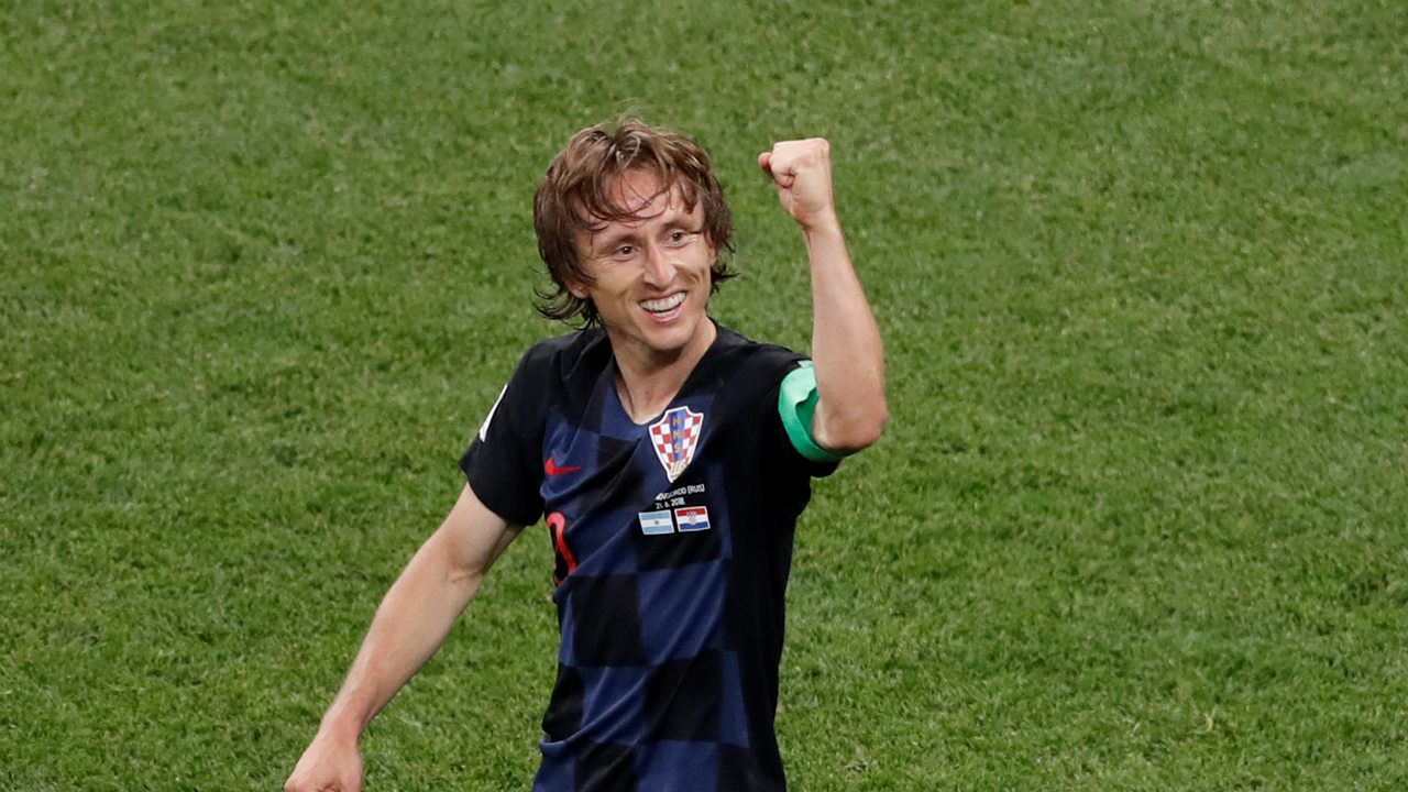 Luka Modric | The Croatian mid-fielder has carried his brilliant form from Real Madrid into the national side's World Cup campaign, effortlessly. He started all three of Croatia's group games, and made 159 passes, with a success rate of 87.4 percent. And he has scored two goals - the one against Argentina is unforgettable. Without a doubt, he will have a major influence over proceedings against Denmark. (Image: Reuters)