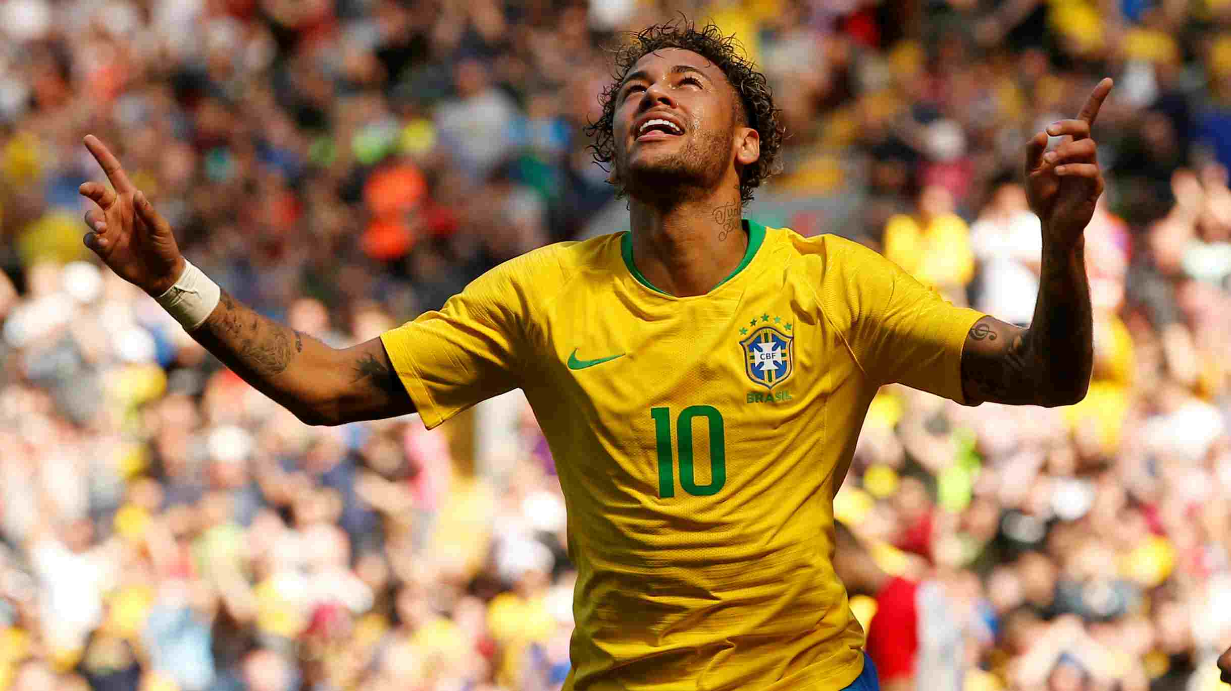 Neymar Jr. | The captain and without doubt the most talented player in the current Brazilian squad, Neymay has had a pretty decent World Cup so far. He ended the group stages with one goal and an assist to his name but also had 17 fouls committed against him as opponents tried to bully him out of the game. Neymar however isn't one to shy away from a tough fight and will be licking his lips to have a run at the Mexican defence which conceded three goals against Sweden in their last fixture. (Image - Reuters)