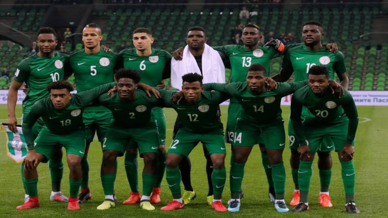 FIFA World Cup 2018 Official squad  Group D – Team 16 – Nigeria ... 4a31f4b7a