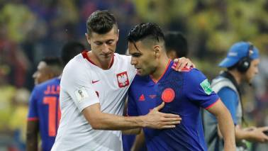 FIFA World Cup 2018: Colombia destroy Poland 3-0 as Falcao scores
