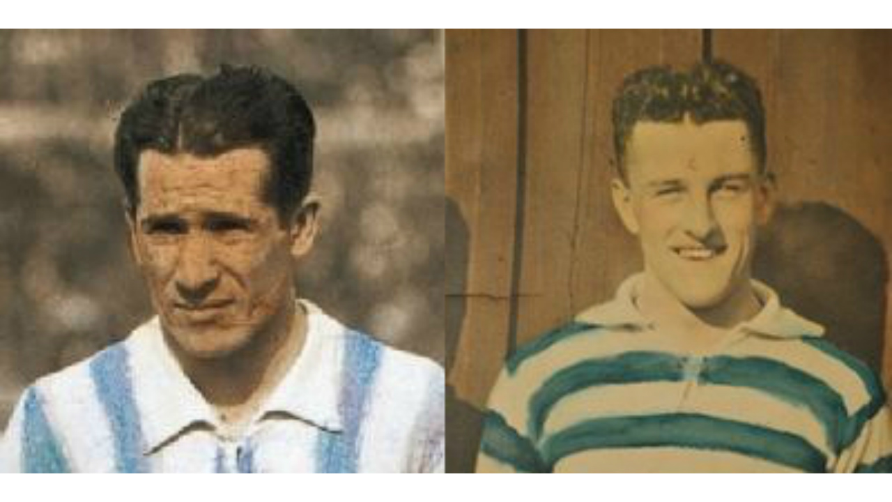 These 2 players (Images) were at the heart of a 76 year old debate. There had always been 3 versions of what happened: Tom Florie scored. An own goal by Paraguay. The version accepted today. When the 3rd version was finally accepted in 2006, the man in the lower image was the beneficiary. What was the issue being disputed?