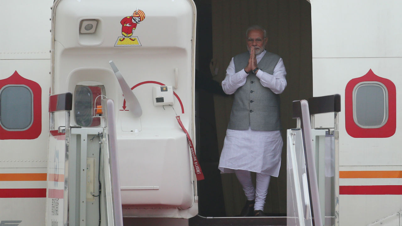 PM Modi's least expensive trip was to Bhutan on June 15 and 16, 2014. Incidentally, it was the prime minister's first foreign trip in official capacity. (Image: Reuters)