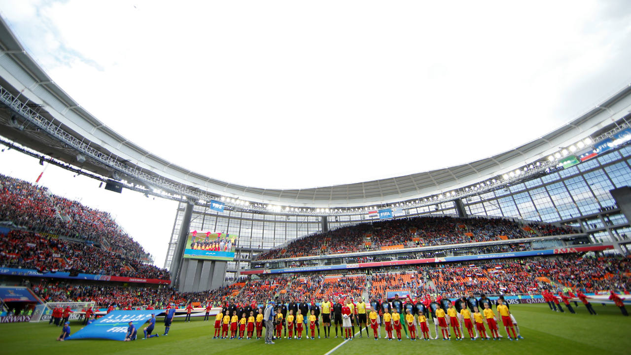 In pics: FIFA investigates empty seats despite near sell-out