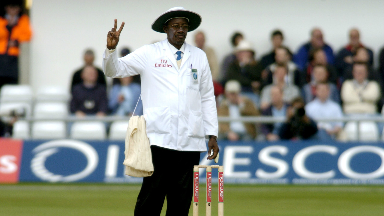 A.2) Both matches refereed by International Test umpires. Steve Bucknor in the former case, and Billy Doctrove in the latter.