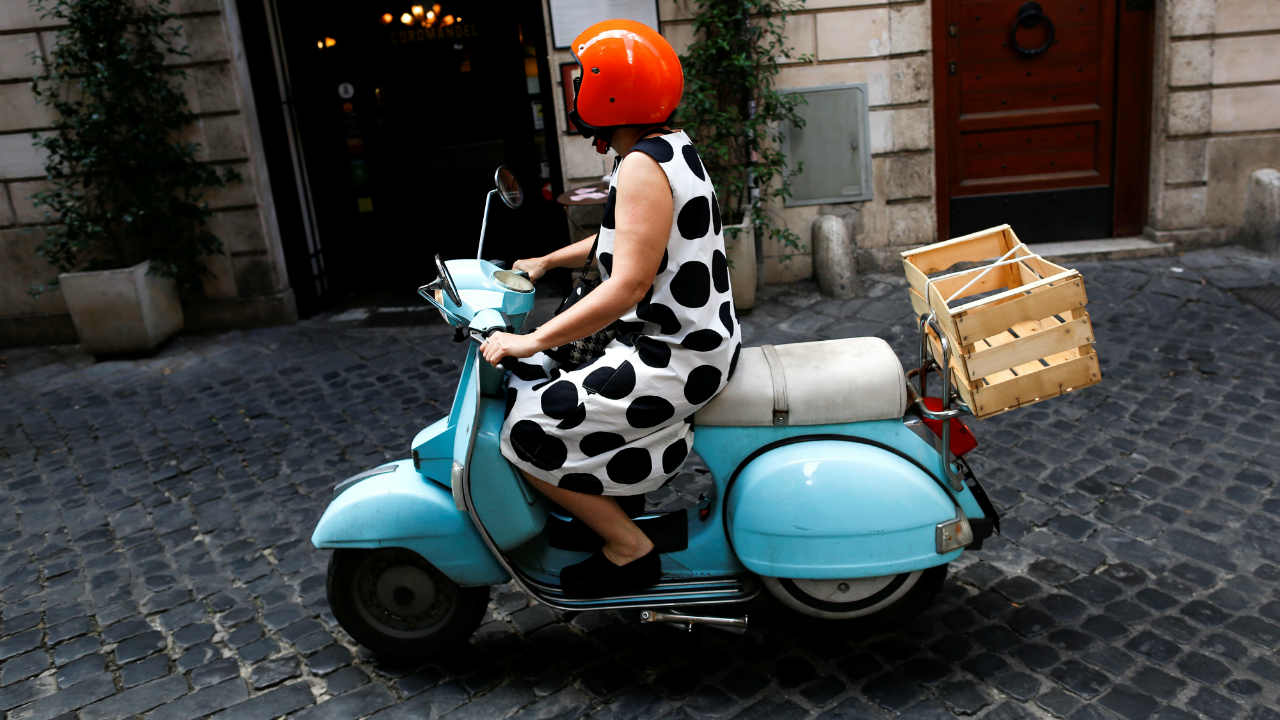 Answer: Vespa (Image: Reuters)