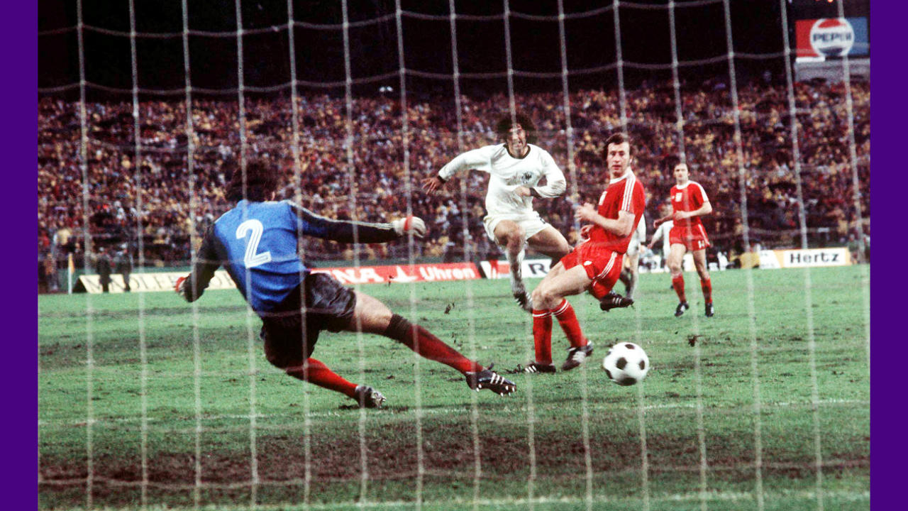A.3) Grzegorz Lato of Poland, highest scorer at the 1974 WC.