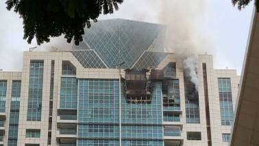 Worli high-rise fire highlights: Blaze contained, no casualties reported