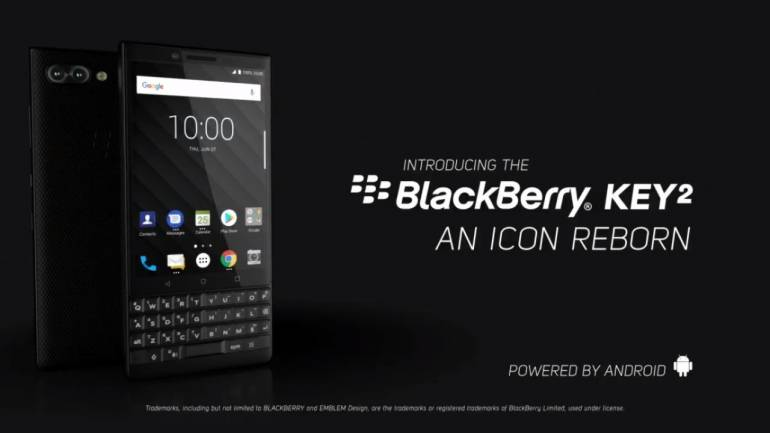 lowest price cf823 3fe82 BlackBerry KEY2 with QWERTY keypad launched in India, a look at its price  and specs